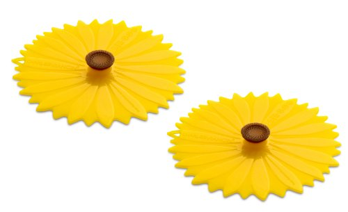 Charles Viancin Sunflower Drink Cover Set/2 from Charles Viancin
