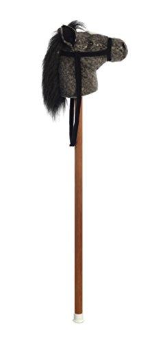 Aurora World Giddy Up Stick Horse with Sound, Jack Dark Dapple, - Toy Horse Stick