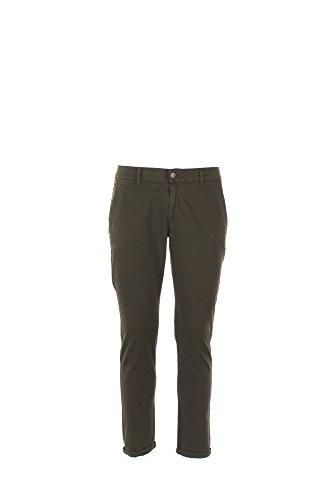 Pantalone Uomo Daniele Alessandrini 31 Verde Pj5386l1003700 1/7 Primavera Estate 2017