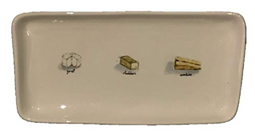 Rae Dunn Artisan Collection Cheese Platter Tray 13.5