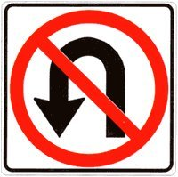 Image result for no u turn