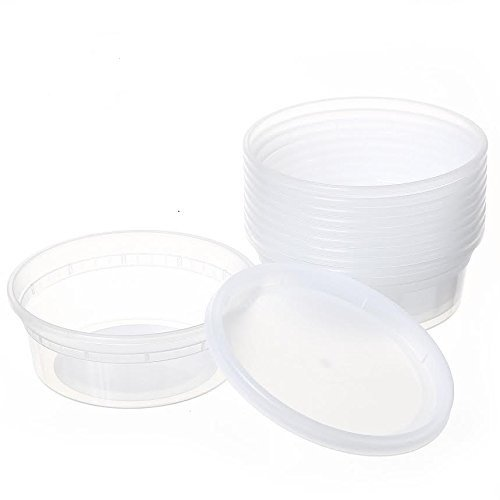 ChefLand Deli Food Storage Container with Lids Plastic, 8-