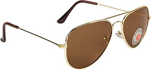 NuVew Polarized Aviator Unisex Sunglasses – (Color Variants Available   Medium)