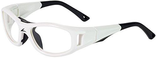 C2 Hilco Leader Sports Goggles Prescription Ready in White Medium