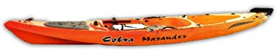 1140F-12RY Cobra Marauder Ultimate Red/Yellow Fishing Machine Kayak