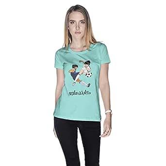 Creo Captain Majid T-Shirt For Women - Xl, Green