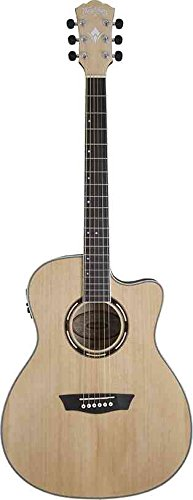 Washburn Apprentice AG40CE with Case, Acoustic Electric Guitar by Other