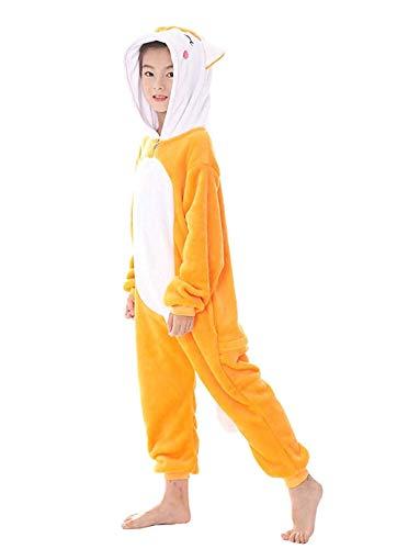 Abyed® Costume Attrezzatura Volpe Kigurumi Halloween Pigiama Anime Cosplay rWqFZrBw