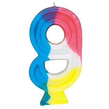Unique Cumpleaños Vela Número 9