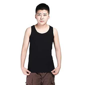 BaronHong Chest Binder I-Back Underwear for Trans Lesbian Tomboy(Black,S)