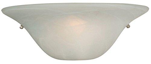 Light Alabaster Glass Sconce - 5