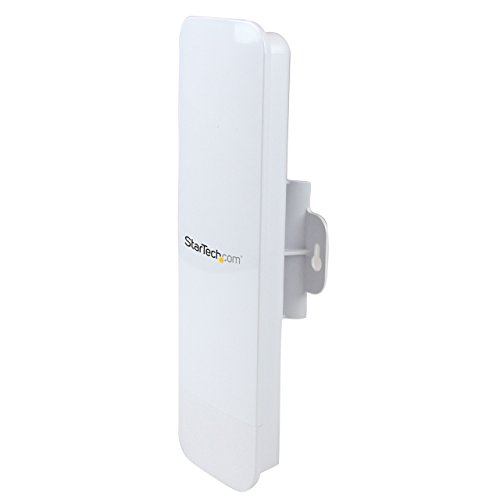 StarTech.com Outdoor 300 Mbps 2T2R Wireless-N Access Point - 5GHz 802.11a/n WiFi AP - Pole/Wall-Mountable Long-Range PoE-Powered AP (R300WN22OP5) by StarTech