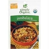 Simply Organic Jambalaya Seasoning Mix ORGANIC Gluten-Free - 3PC