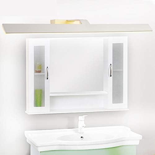 . Semplice LED Moderna 44/55 / 71CM frontale mirror Nordic Light Hotel Bathroom domestica trucco waterproof lampada di illuminazione (Color : White light)