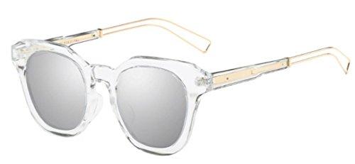 Sol Gafas Hombre Mujer Gafas Polarizadas De Conducción Moda De Aviator De Compra Sol Silver 0z0Uq1