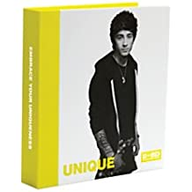One Direction Limited Edition 1D + Od Together Round Ring Binder, Zayn - Unique, Neon Yellow