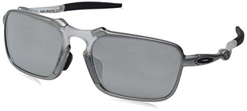 Oakley Men's Badman X (Asia Fit) Tin w/ Chrome Iridium  One - Oakley Badman