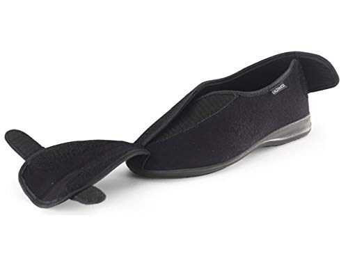 Calzamedi Sneaker Donna Negro Nero 3090 108 7wqzx87Yr