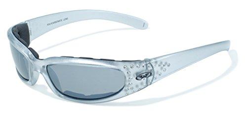 Global Vision Marilyn Silver Framed - Framed Red Sunglasses