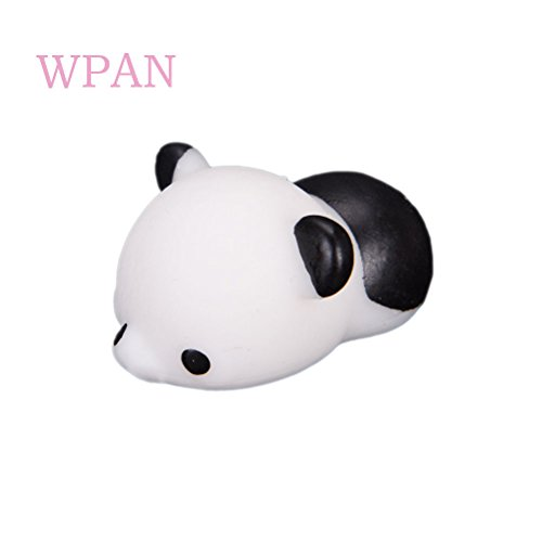 Tiny Panda - DatingDay Kawaii Adorable Cute Mini Squishy Toy Animal Squeeze Stretch Compress Slow Rising Healing Stress Reduce Relieve Ball with a Box,White Panda