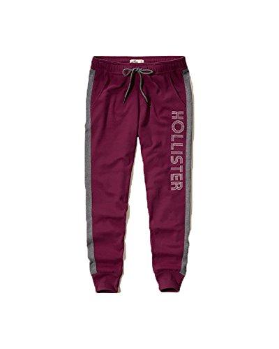hollister-womens-sweatpants-x-small-dark-pink-jogger