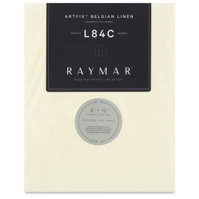 RayMar Artfix Belgian Linen Panel - 12'' x 16'', L64C, Quadruple Oil Primed by RayMar