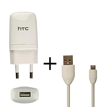 Original HTC cable de carga TC-E250 + DC-M410 en color ...