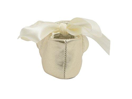 Image of Baby Deer Sabrina Metallic Ballet Flat (Infant/Toddler)