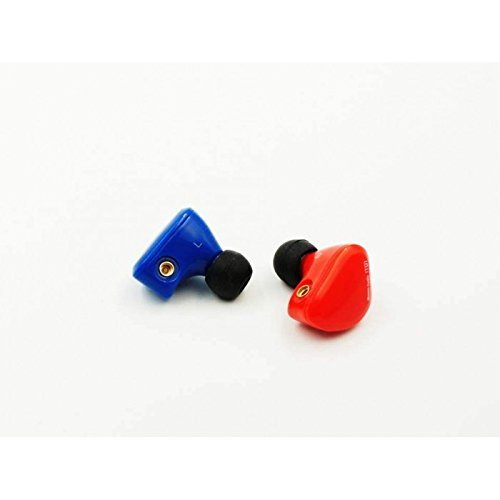 iBasso IT01 Dynamic Driver Audiophile MMCX Detachable IEMs In-Ear Headphones with (Blue/Red)