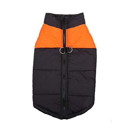 Neve Pet Abbigliamento Taglia Arancione Cappotto Giacca Cane Xs Inverno Cotone 5xl Vestiti Medium Small Cani Mama Stadt Gilet Caldo Impermeabile pSVqzUM