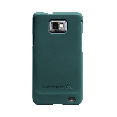 Cell I9100 Phone (BarelyThere Case for Samsung i9100 Blue rubber)