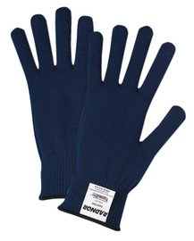 Radnor Glove Cold Weather Blue Thermastat Polyester Insulating With Knit Wrist -1 Dozen Pairs
