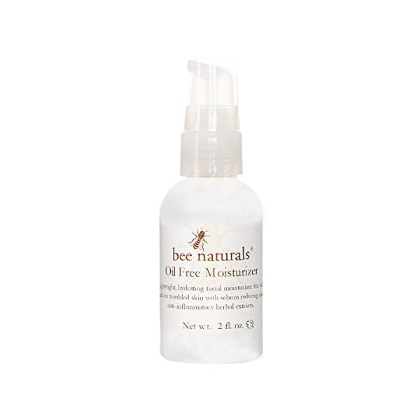 Bee Naturals Best Oil Free Moisturizer - Facial Cleanser for Oily