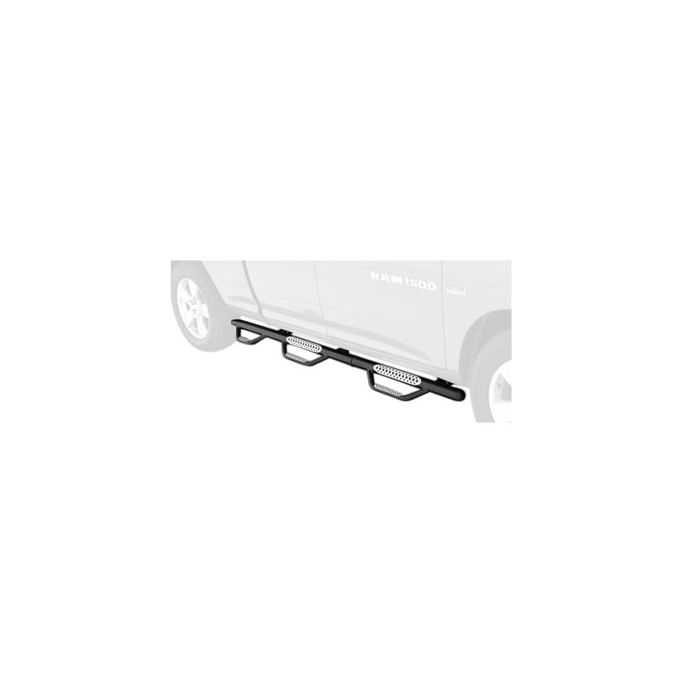 Go Rhino D36248B Dominator III Black Modular Wheel to Wheel Side Step