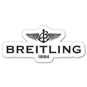 Breitling Watch Logo Sticker Decal 5x3