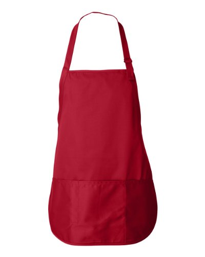 Liberty Bags Sara Adjustable Apron (Red) (ALL)
