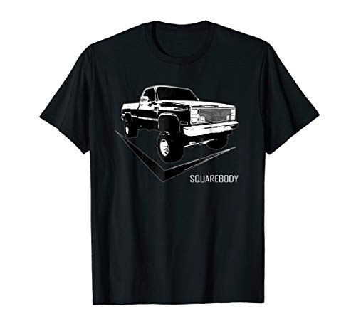 Squarebody T-Shirt With Classic Square Body ()