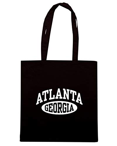 Speed Shirt Borsa Shopper Nera TSTEM0137 ATLANTA GEORGIA WOMENS