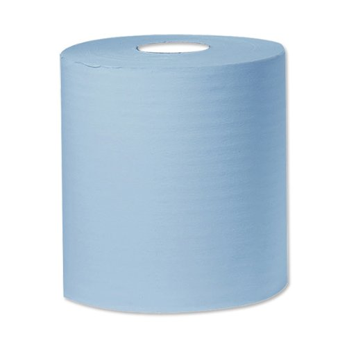 Connect B2B340 - Pack de 2 rollos de papel para limpiar, 400 m, color azul Tool Connection (EU)