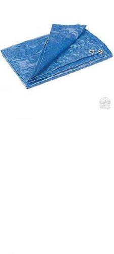 Cheap DeWitt M6X8 Super Tarp Outdoor Canopies, 2.3 oz/Small, Blue