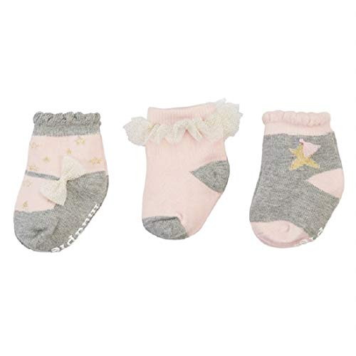 Mud Pie Dream in Glitter Sock Set, One Size Fits All, Multicoloured