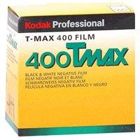KODAK T-Max 400, 400TMY-402, Black & White Negative Film ISO 400, 35mm Size, 100' Roll, by Kodak
