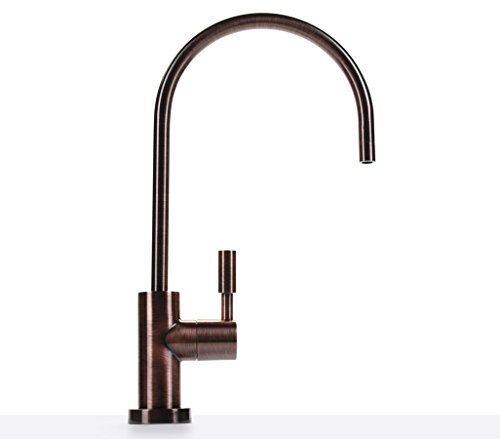 Hydronix LF-EC25-AW Teir1 Modern Ceramic RO Reverse Osmosis or Filtered Water Faucet, Lead Free, Antique Wine by Hydronix (Image #2)
