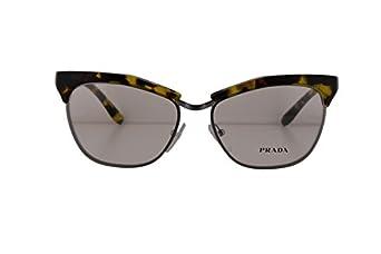 6423f2da10d1 www.semadatacoop.org Prada PR14SV Eyeglasses 55-16-140 Yellow Havana UBN1O1