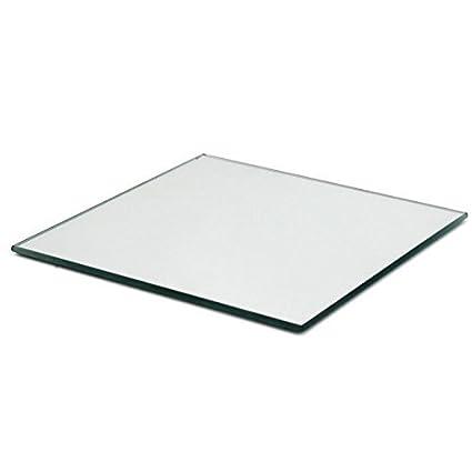 Amazoncom 4 Inch Glass Craft Square Mirrors 12 Pieces Mosaic
