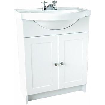 design house vanity combo white vanity bathroom cabinet with 2doors 31