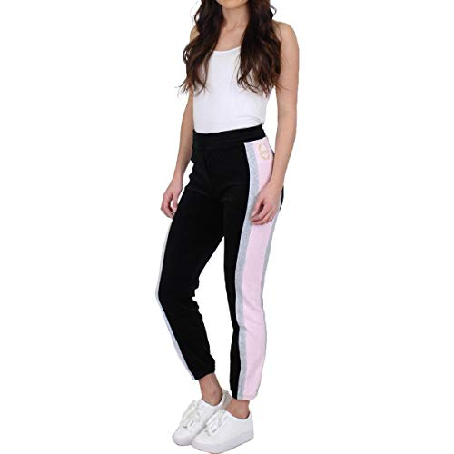 - Juicy Couture Black Label Women's Velour Sporty Heritage Mid-Rise Pant, Pitch, XS