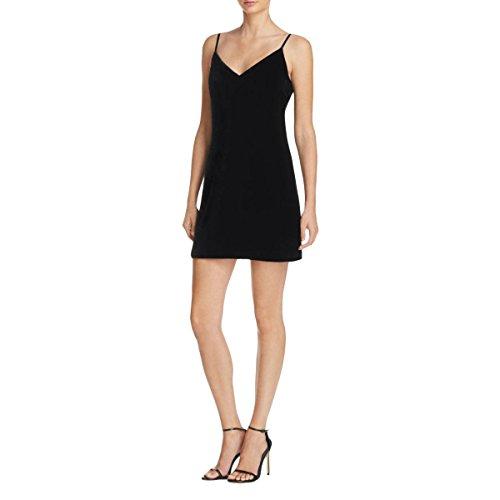 Elizabeth and James Womens Sidney Cami Velvet Mini Dress Black (Elizabeth And James Dresses The Black Dress)