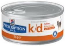 Hill 's - Alimento para gatos con receta de dieta y dieta (156 g, 8 unidades)