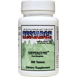 Advanced Research - Nieperzyme Food Enzymes - 200 Tablets by Advanced Nutritional -